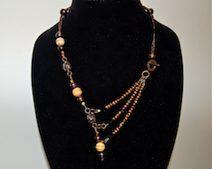 3-Strand Asymmetrical Necklace