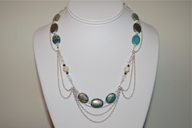 Drapey Chain Necklace