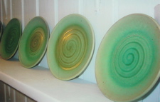 Turquoise Plates